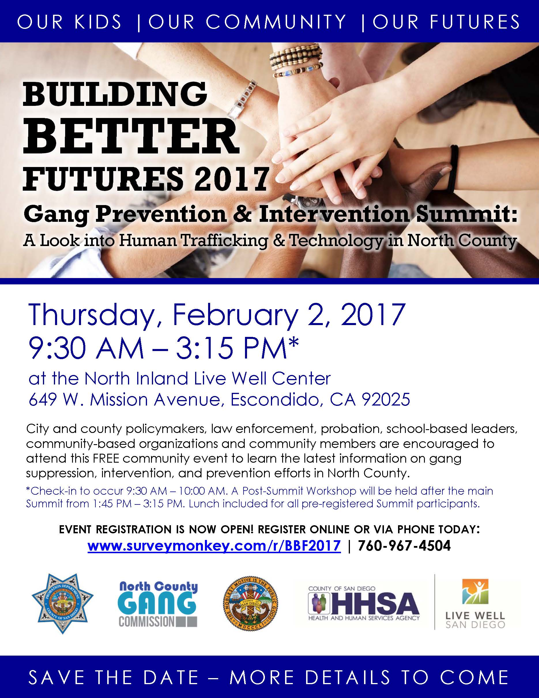 Building Better Futures Gang Prevention & Intervention Summit