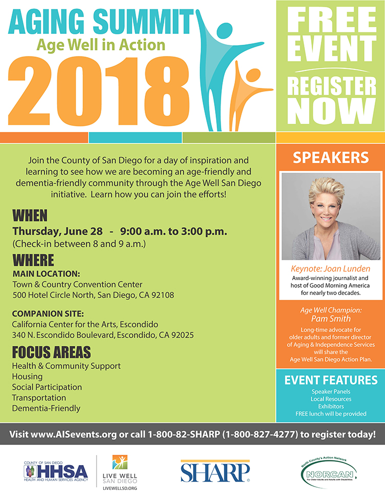 2018 Aging Summit: Age Well in Action