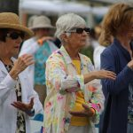 Tai Chi was very popular at the Vital Aging 2015 Conference