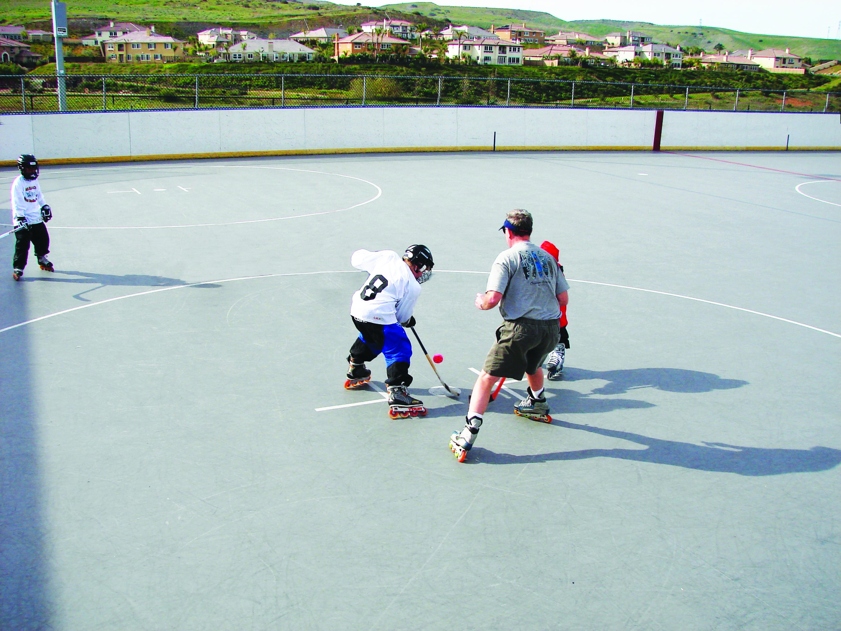 4S Ranch Youth Roller Hockey Clinics