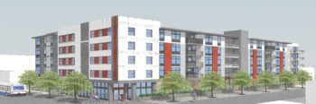 Rendering of a development in City Heights.