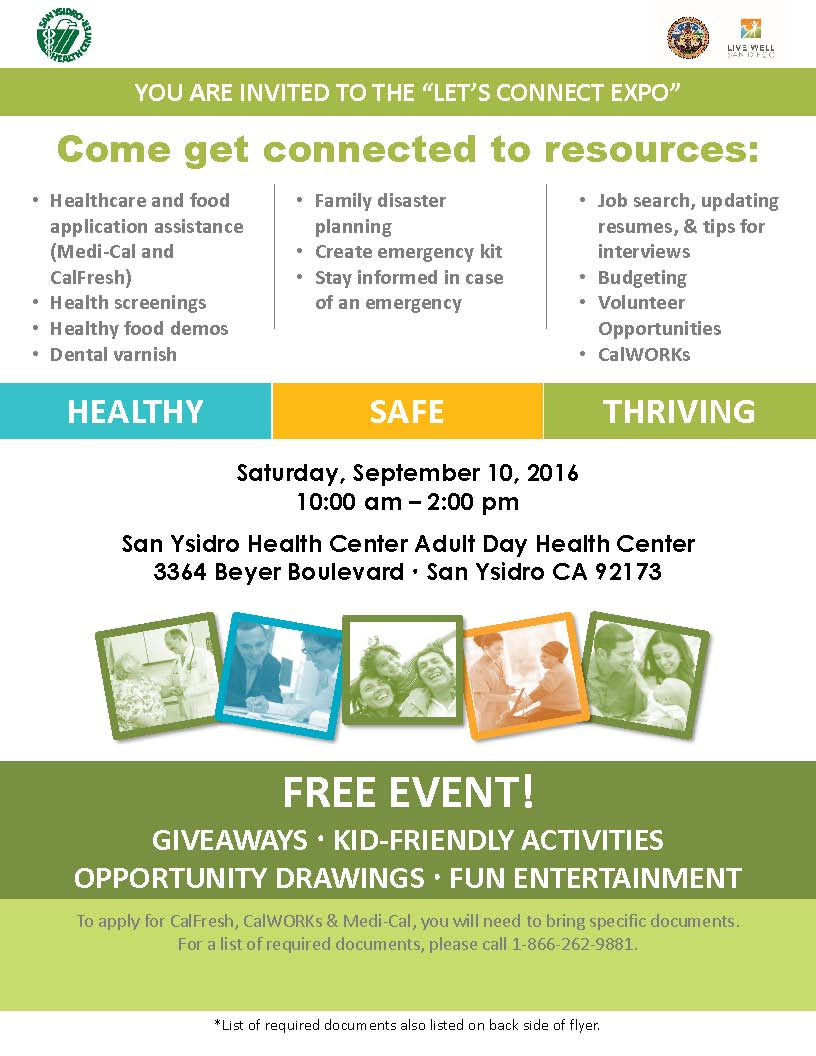 Let\'s Connect Expo | News | San Diego County News Center