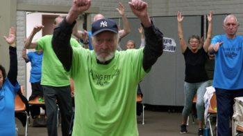 93-Year-Old WWII Vet is Still Feeling Fit