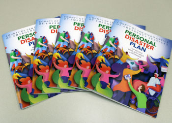 Personal Disaster Plan booklets for people who may need assistance
