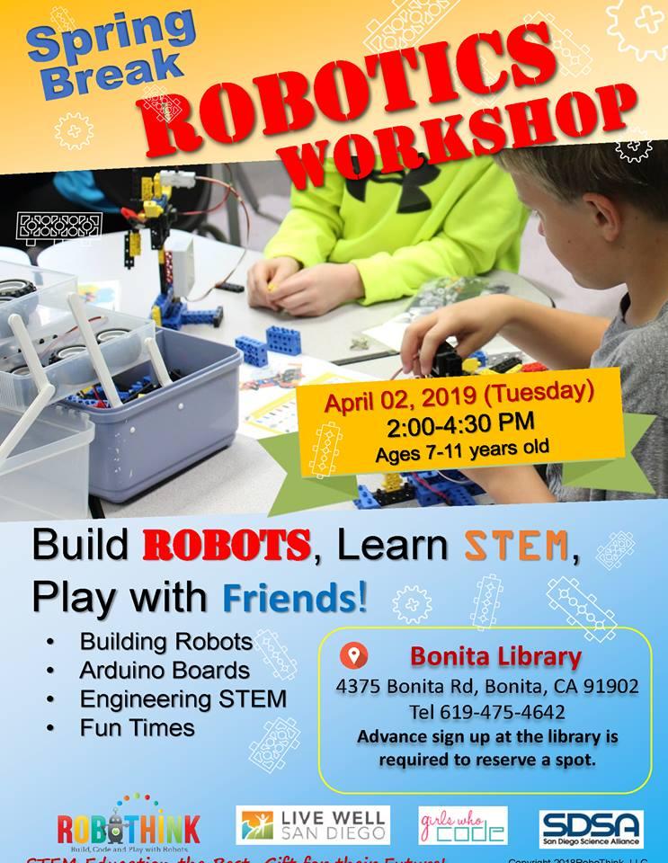 Spring Break Robotics Workshop