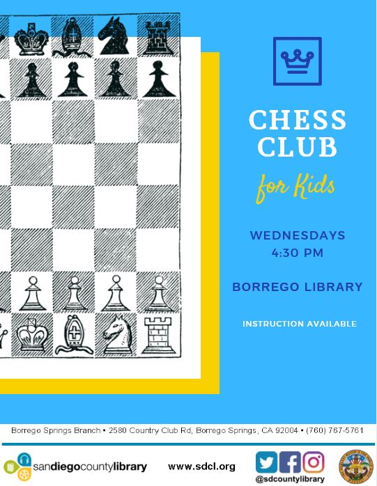 Chess Club for Kids (And Parents!)