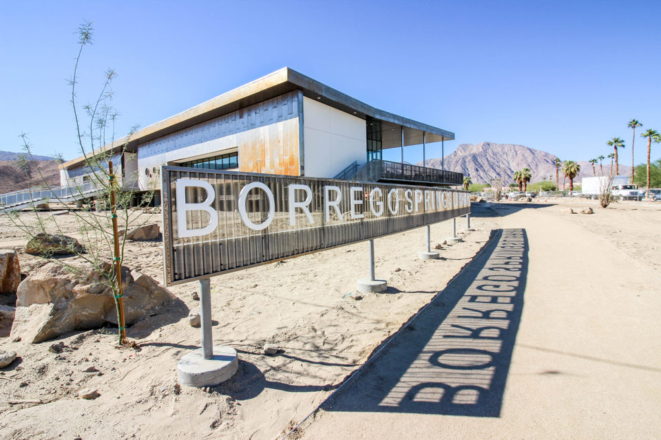 The Borrego Springs Library