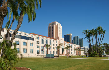 County Administration Building at Waterfront Park.
