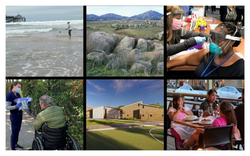 collage of images from across San Diego County