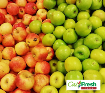 apples with a CalFresh logo