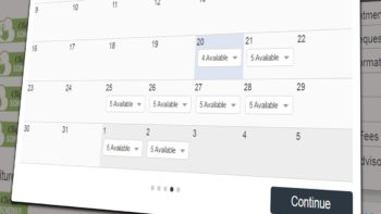 Click-to-schedule-calendar