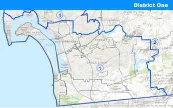map of District 1