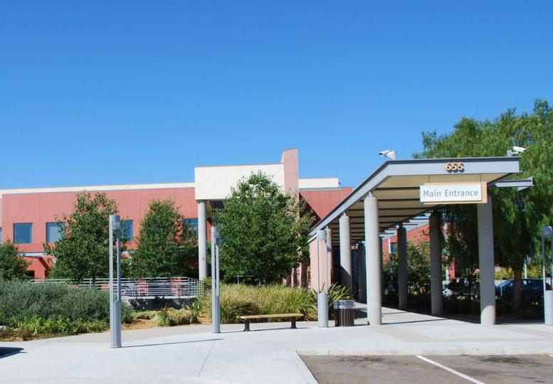 Exterior of Edgemoor Skilled Nursing Facility