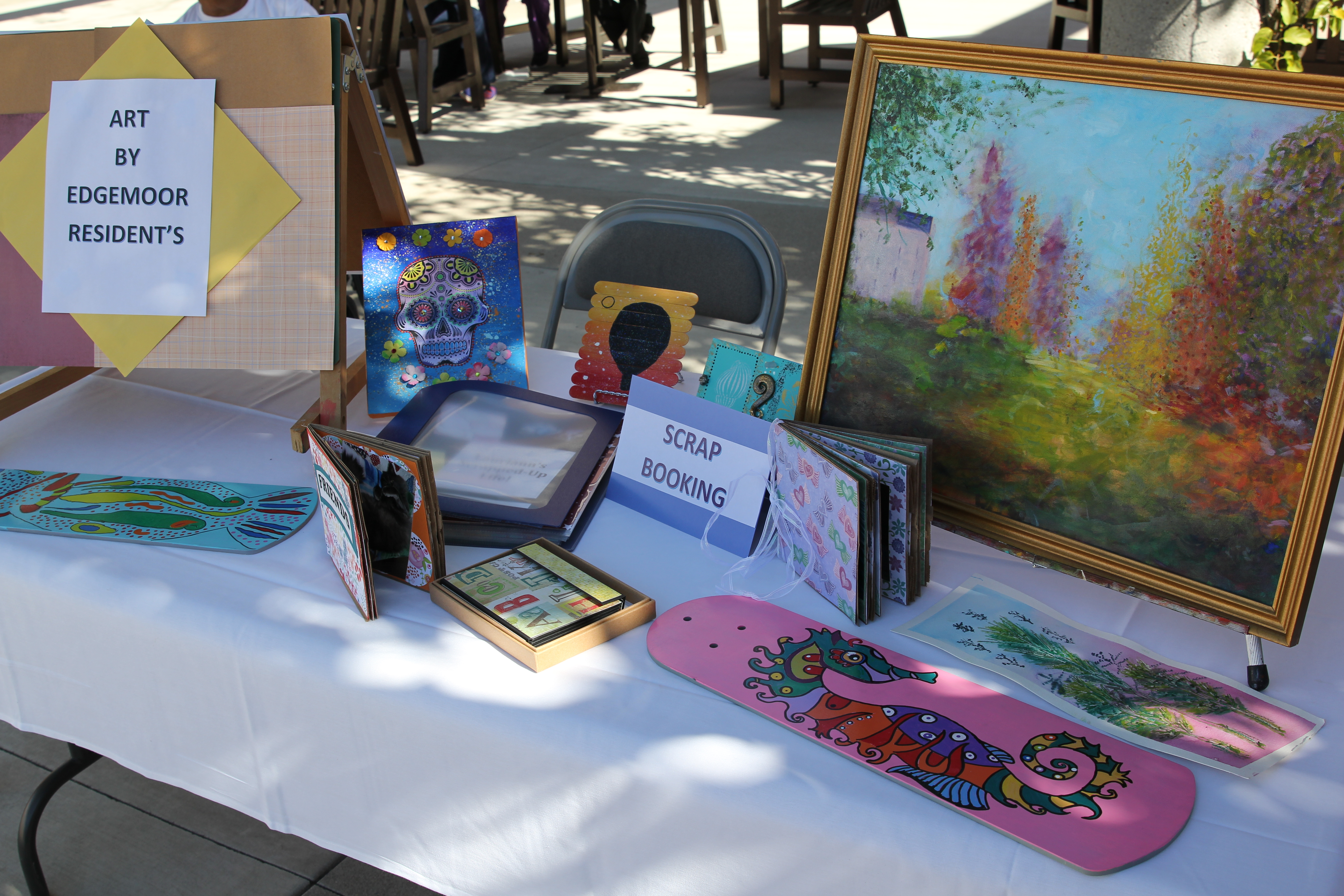 picture of art created by edgemoor residents