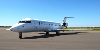 Cal Jet by Elite Airways will soon start flying a Bombardier CRJ700 jet out of McClellan-Palomar Airport.