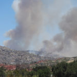 By day five, the Border Fire had burned nearly 7,000 acres.