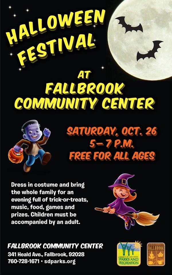 Fallbrook Community Center Halloween Festival