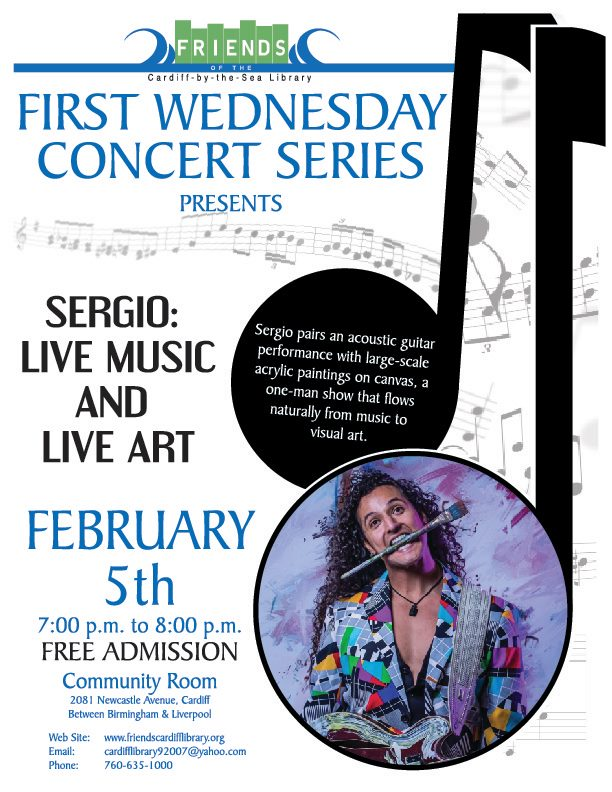 First Wednesday Concert: Sergio