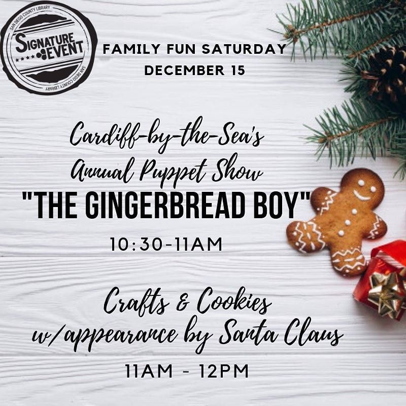 """The Gingerbread Boy"" Puppet Show"