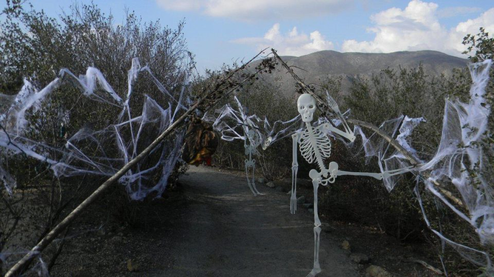 Haunted trails at Hellhole Canyon