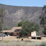 This home with  defensible space was saved from the fire.