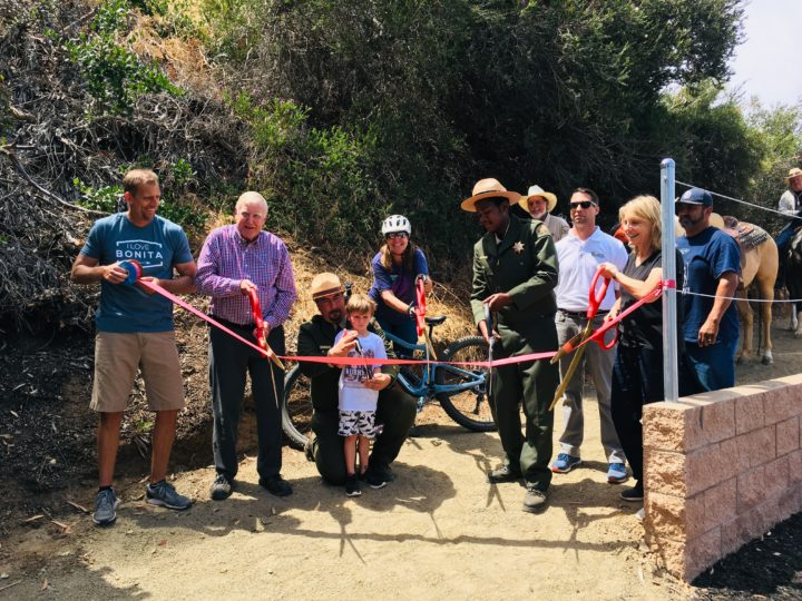 Ribbon cutting at Sweetwater