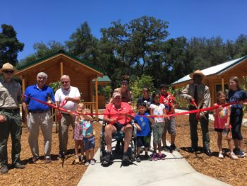 Ribbon cutting at Dos Picos