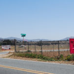 A sign guides fire personnel to the Incident Base at Potrero Regional Park.
