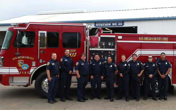 County, CAL FIRE Boost Backcountry Paramedic Service   News