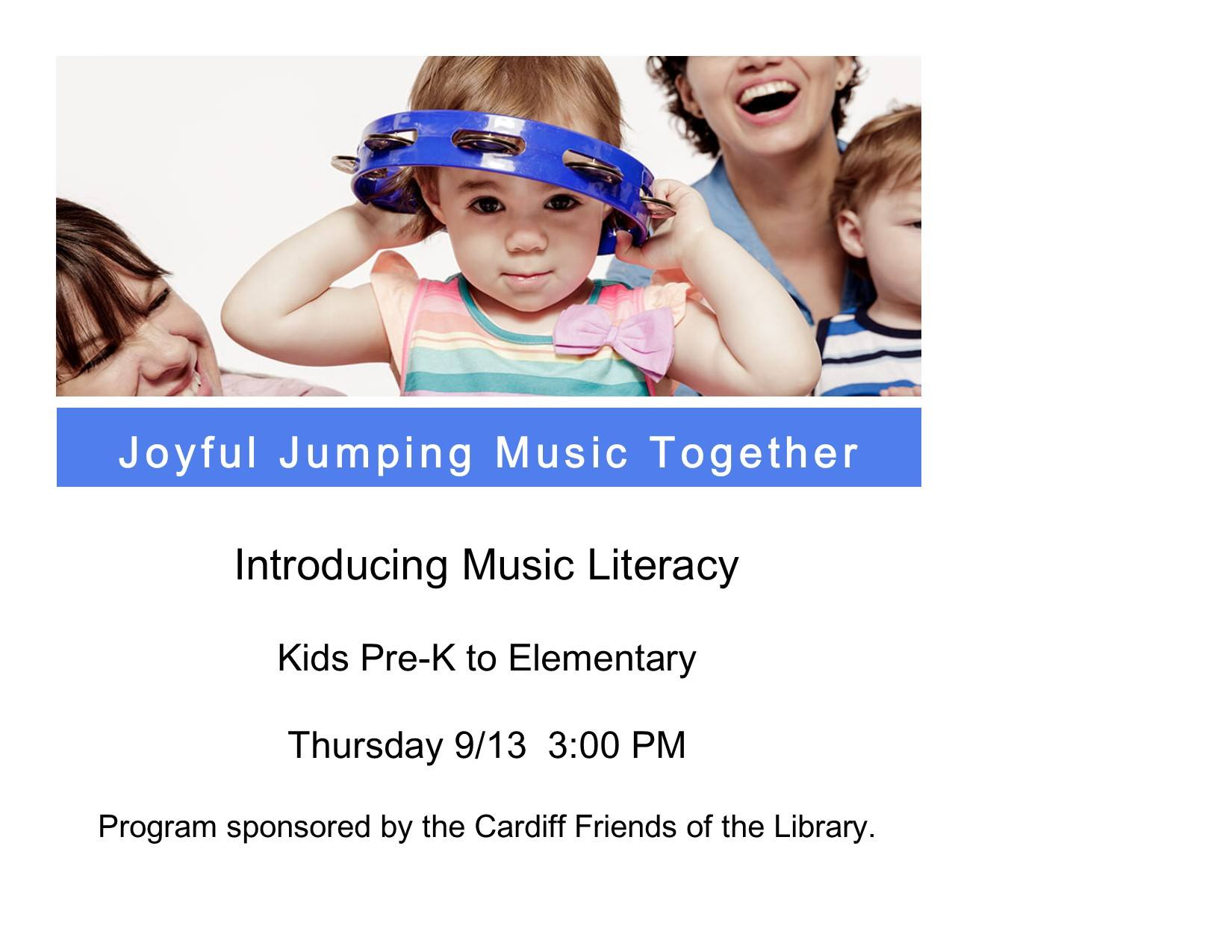 Joyful Jumping Music Together News San Diego County News Center