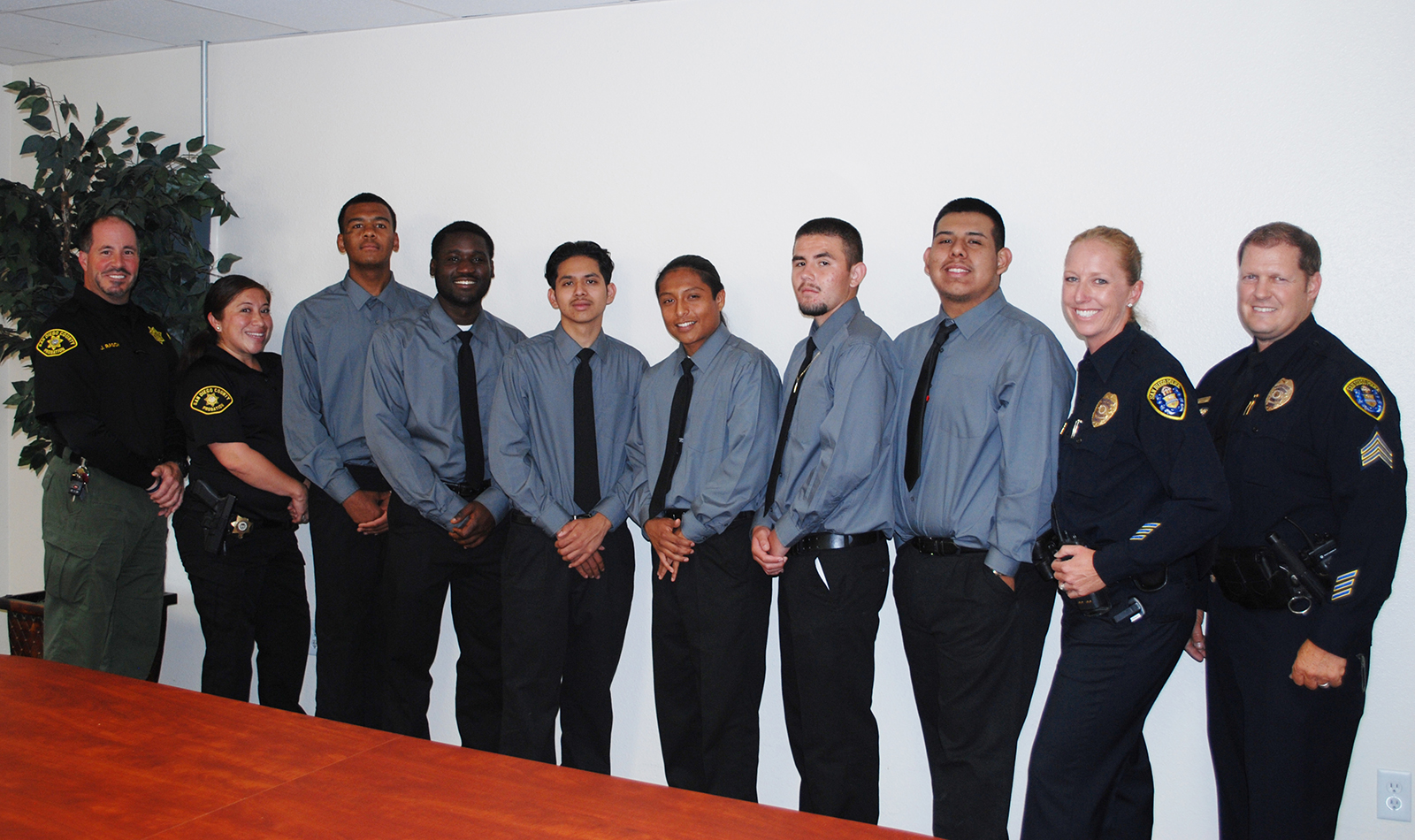 Six probation youth recently completed a Life Skills program to help them succeed on a new life plan.