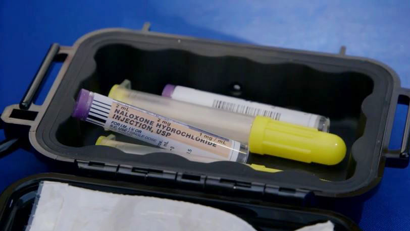 A Naloxone kit carried by San Diego County Sheriff's deputies in the field are saving opioid overdose victims.