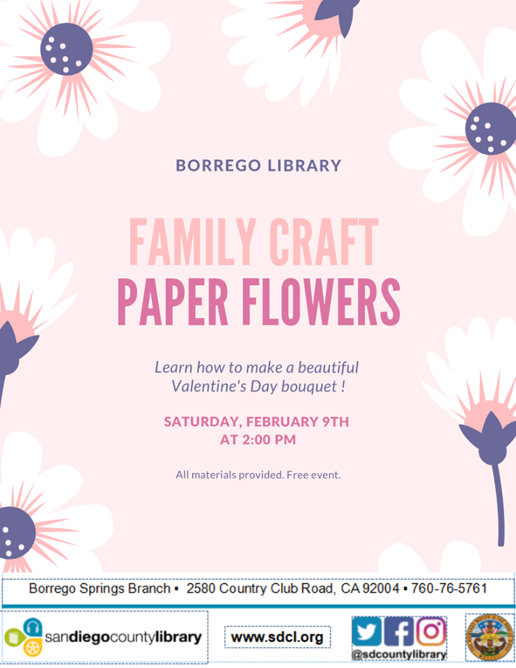 Family Craft: Paper Flowers