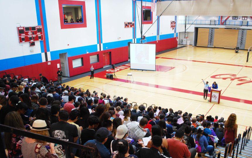 More than 800 Probation-related youth attended an event to offer them resources and inspiration to positively change their lives.