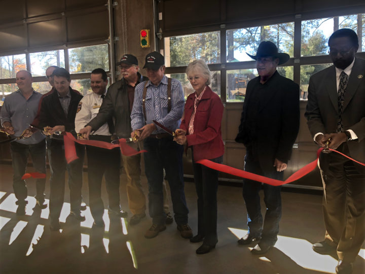 Pine Valley Fire Station Ribbon Cutting