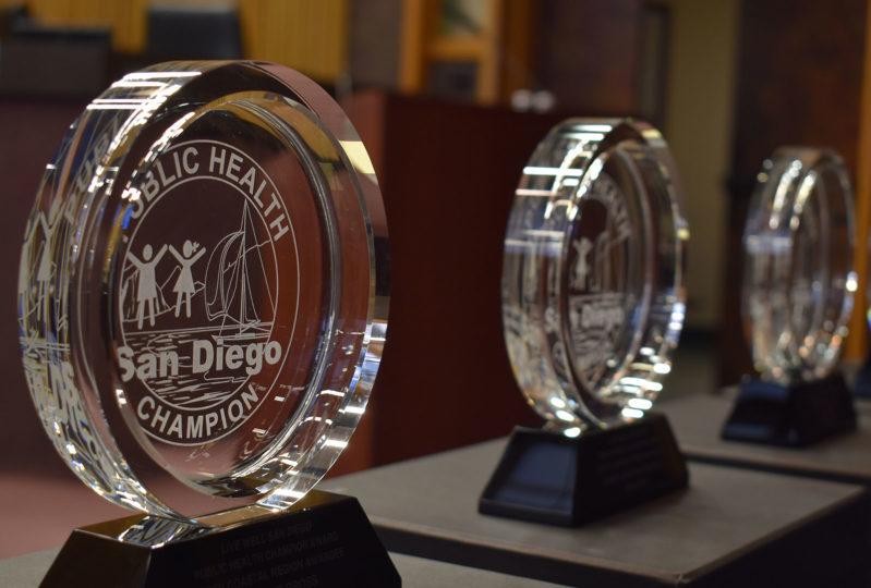 Public Health Champion award
