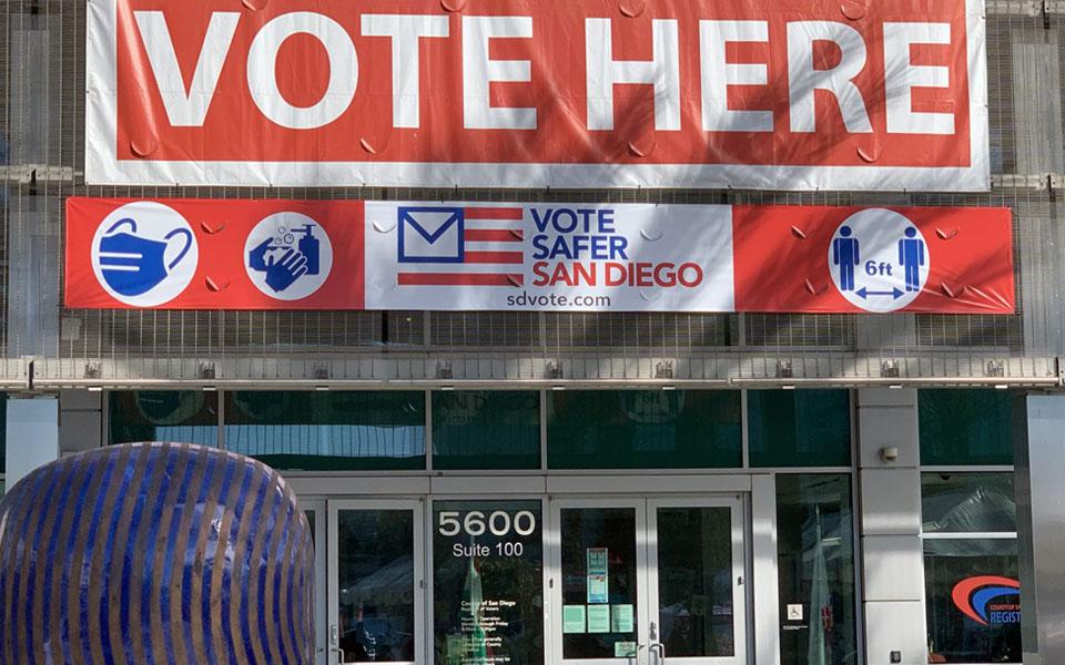Registrar of Voters building