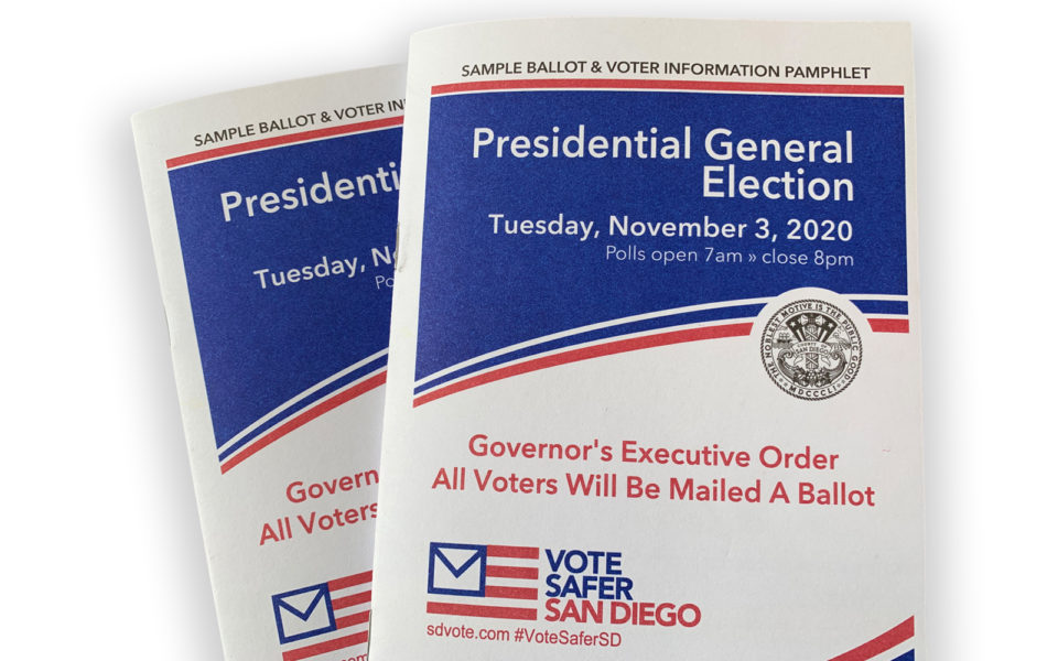 sample ballots and voter information pamphlet