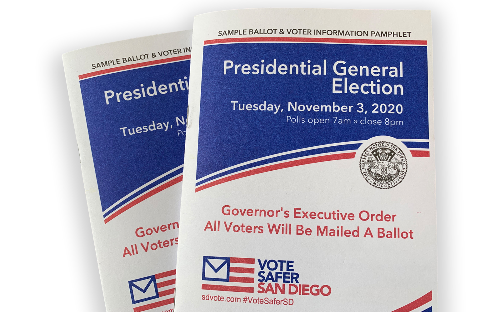 sample ballots and voter information pamphlet