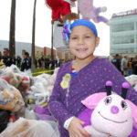 10-year-old Daniella selected a new stuffed animal friend.