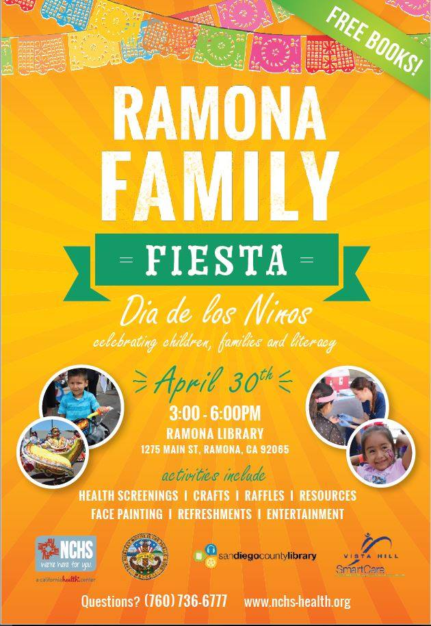 Ramona Family Fiesta flyer