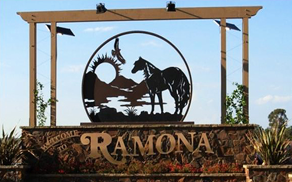 RamonaWelcomeSign