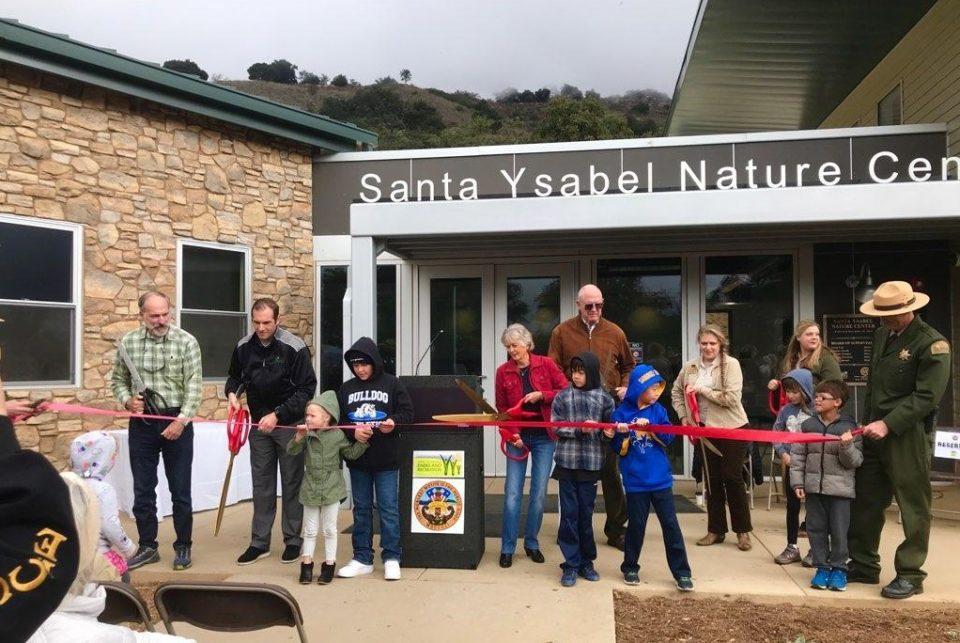 Ribbon cutting at Santa Ysabel Nature Center
