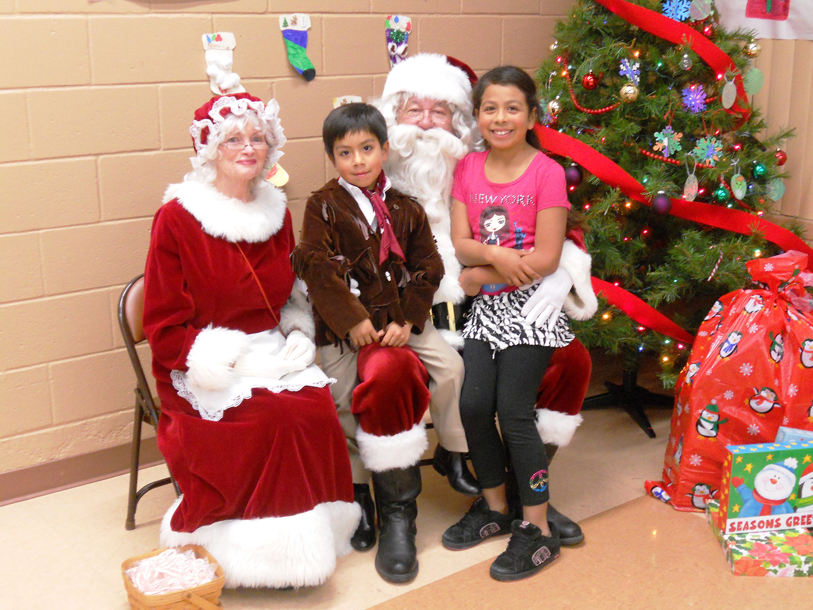 Spring Valley Breakfast with Santa
