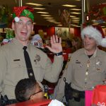 Shop With A Cop fun is contagious.