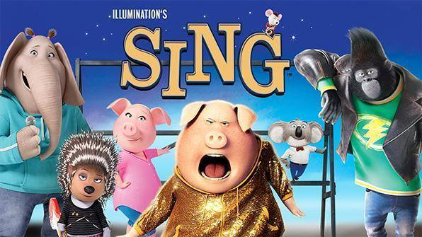 Free Summer Movies in the Park: Sing