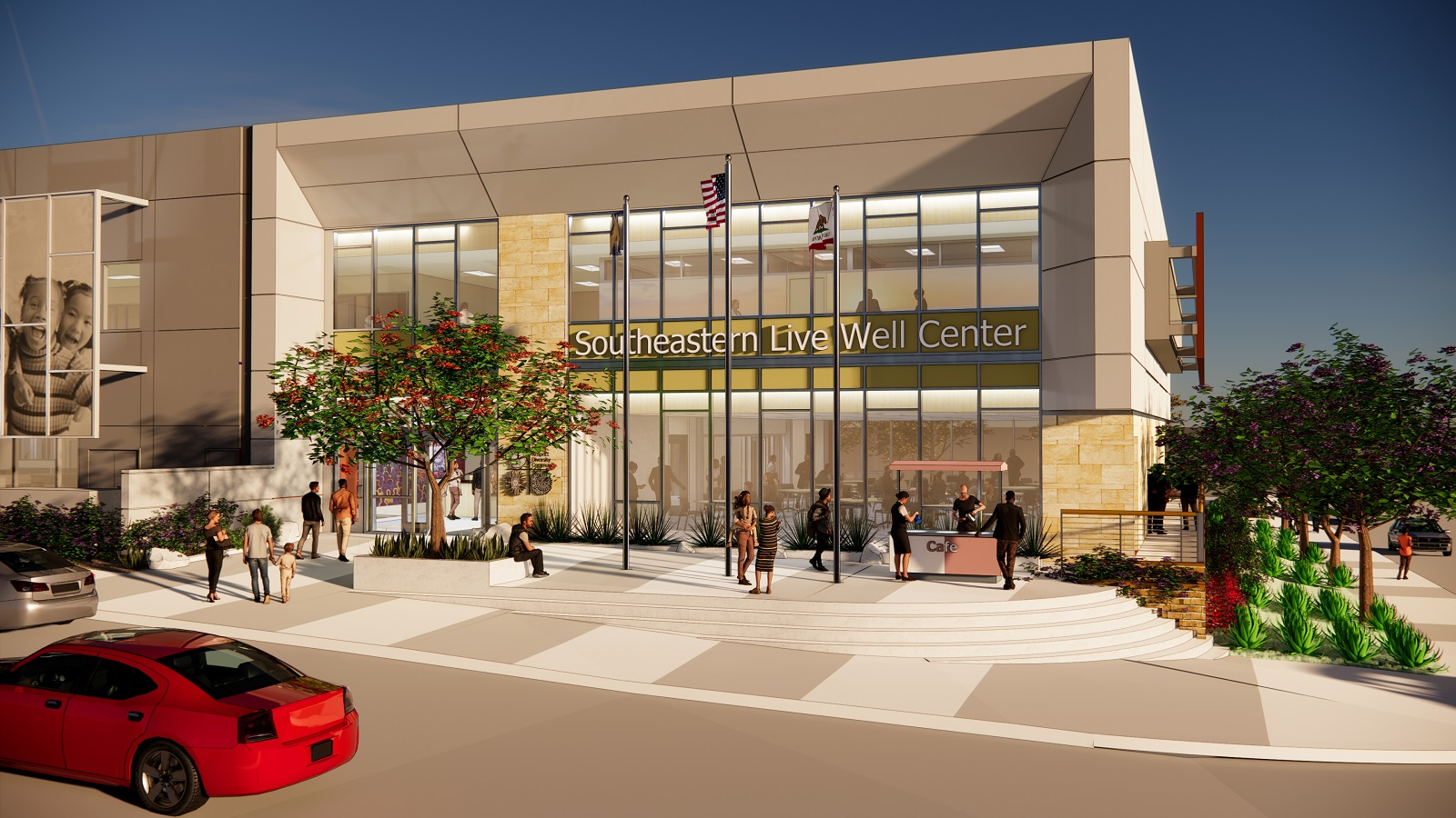 Southeastern Live Well Center rendering