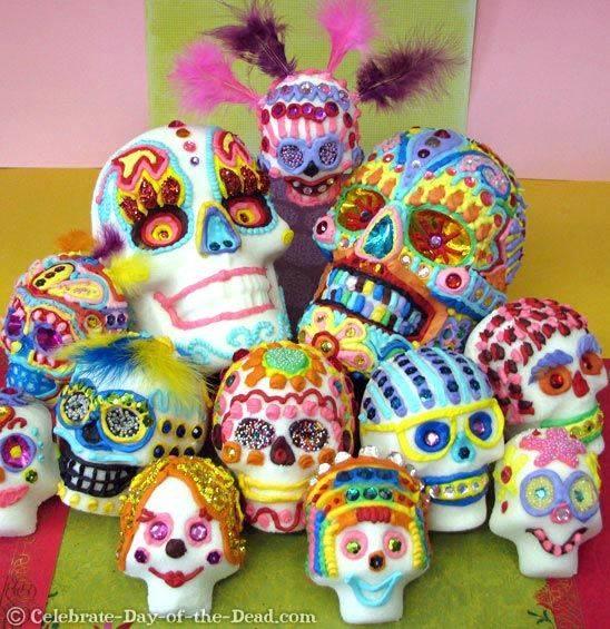 Sugar Skull Decorating