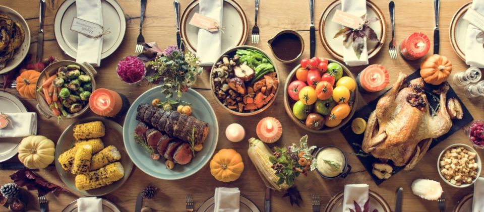 Thanksgiving Feast Shutterstock