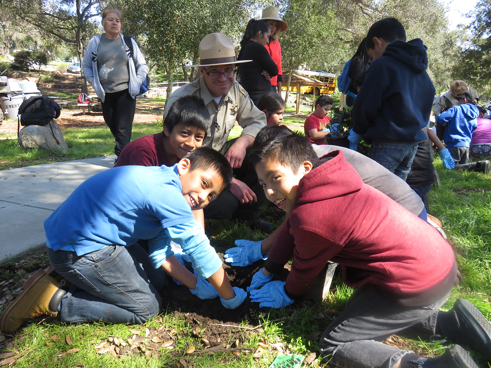 Native Species Planting with Ranger Chuck